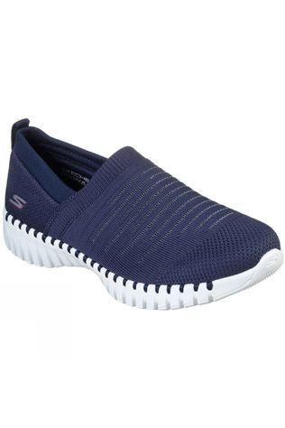 Skechers Womens GoWalk Smart Wise Slip On Shoe Navy