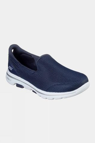 Skechers Womens GOwalk 5 Slip On Shoe Navy