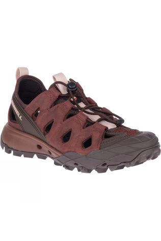 Merrell Womens Choprock Leather Sieve Sandal Raisin