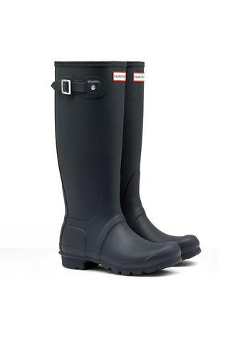 Hunter Womens Hunter Original Tall Wellington Boots Black