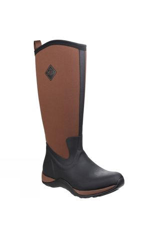 Muck Boot Womens Arctic Adventure Boot Black/Tan