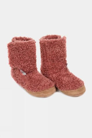 Ayacucho Super Soft Teddy Slipper Deep Sea Coral