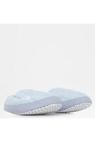 The North Face Women's ThermoBall Eco Traction Mules V Slipper Mist Blue/TNF White