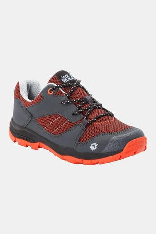Jack Wolfskin Kids Mtn Attack 3 Low Shoe Orange / Dark Grey