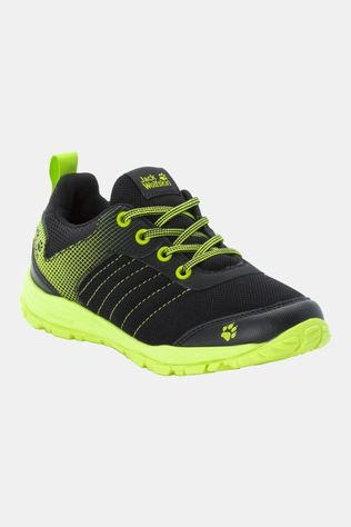 Jack Wolfskin Kids Cascade Low Black / Lime