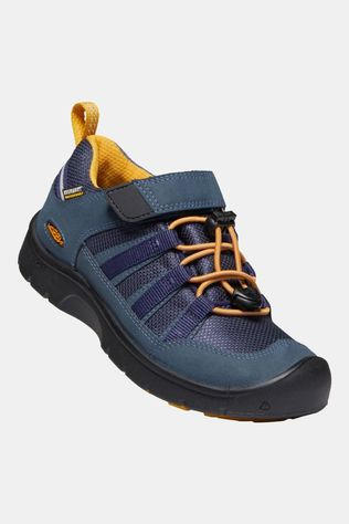 Keen Youth Hikeport 2 Low WP Shoe Blue Nights/Sunflower