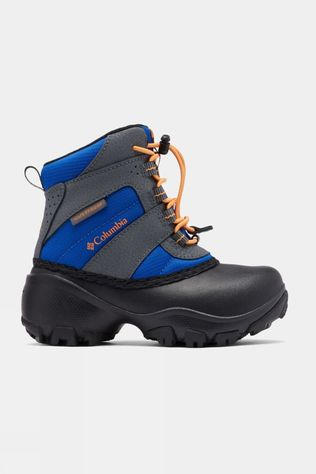 Columbia Boys Rope Tow III Waterproof Boot Azul/ Orange Blast
