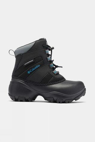 Columbia Boys Rope Tow III Waterproof Boot Black / Dark Compass