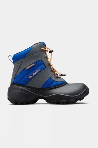 Columbia Boys Youth Rope Tow III Waterproof Boot Azul/ Orange Blast