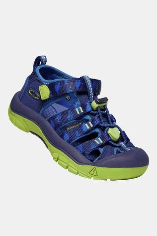 Keen Children's Newport H2 Sandal Blue Depths/Chartreuse