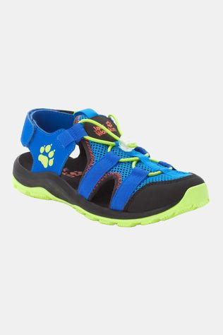 Jack Wolfskin Kids Outdoor Action Sandal Blue / Lime