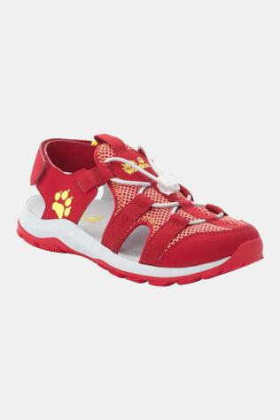 Jack Wolfskin Kids Outdoor Action Sandal Red / Lemon