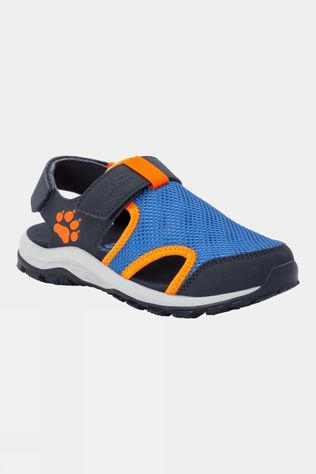 Jack Wolfskin Kids Outdoor Water Action Sandal Blue / Orange