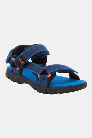 Jack Wolfskin Kids Seven Seas 3 Sandal Blue / Orange