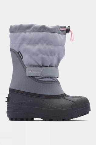 Columbia Boys Powderbug Plus II Boot Grey Ash/ Rosewater