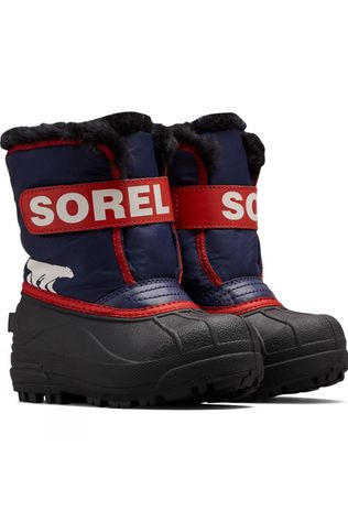Sorel Childrens Snow Commander Boot Nocturnal, Sail