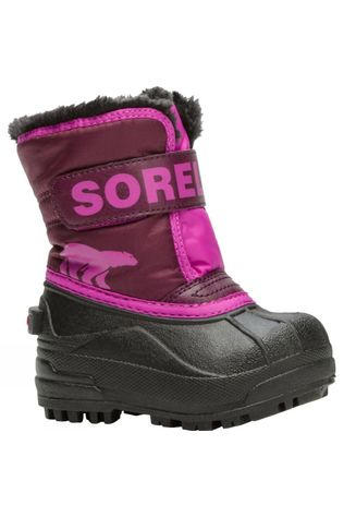 Sorel Toddler Snow Commander Boot Purple Dahlia,