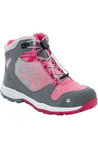 Jack Wolfskin Girls Grivla Texapore Mid Boot Azalea Red