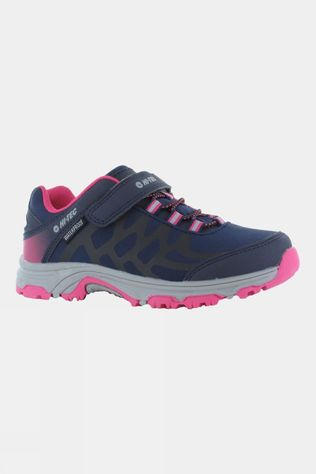 Hi-Tec Kids Yomp EZ WP Shoe Navy/Desert Flower