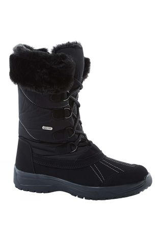 Calzat Girls Grip Snow Boot Nero