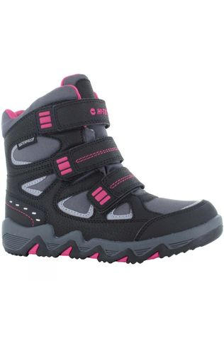 Hi-Tec Girls Thunder Snow Boot Dark Grey/Black/Fuscia