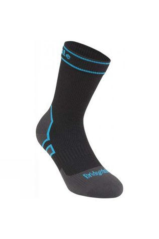 Bridgedale Midweight Boot Length Stormsock Black/Blue