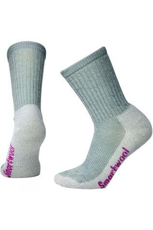 SmartWool Womens Hike Light Crew Socks Light Gray