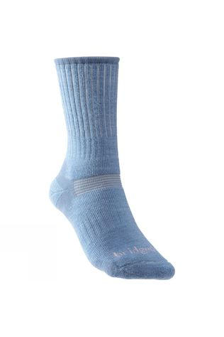 Bridgedale Womens Merino Hiker Sock Sky/Mid Blue