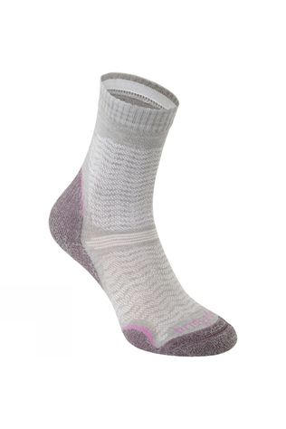 Bridgedale Womens Ultra Lightweight Merino Endurance Sock Aubergine
