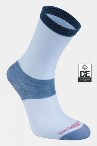 Bridgedale Womens Coolmax Liner Sock (2 Pairs)  Sky