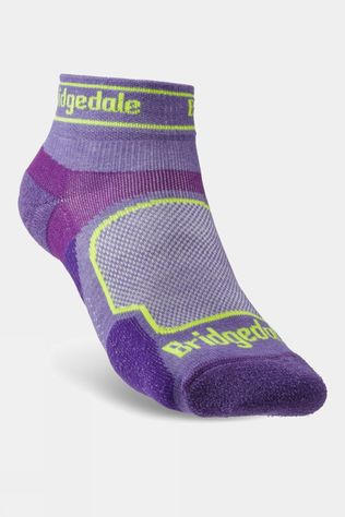 Bridgedale Womens Ultra Light T2 Coolmax Sport Low Sock Purple