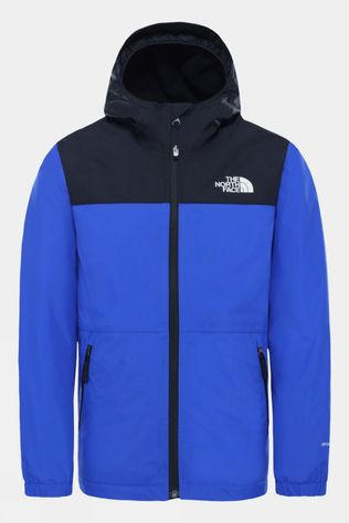 The North Face Boy's Warm Storm Rain Jacket TNF Blue