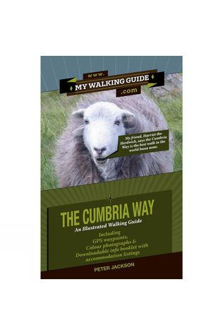 2QT Ltd Publishing The Cumbria Way: An Illustrated Walking Guide No Colour