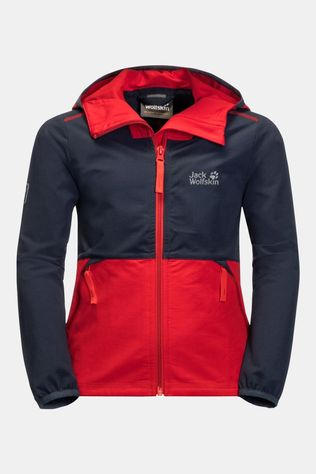 Jack Wolfskin Kids Turbulence Jacket peak red
