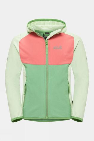 Jack Wolfskin Kids Turbulence Green Sea