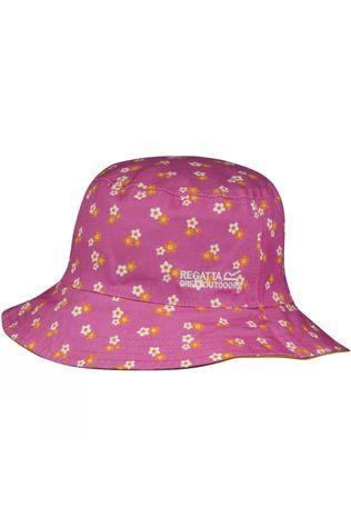Regatta Kids Cruze Hat Persimmon/Pretty Ditsy Print