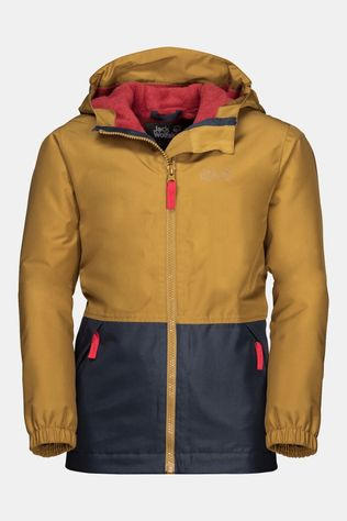 Jack Wolfskin Kids Snowy Days Jacket Golden Amber
