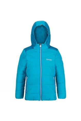 Regatta Kids Lofthouse IV Insulated Jacket Freshwater Blue/Dark Methyl