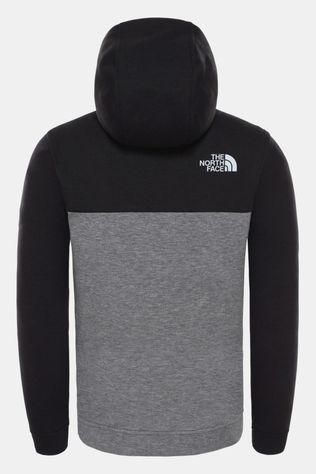 The North Face Boys Slacker Full Zip Hoodie TNF Black
