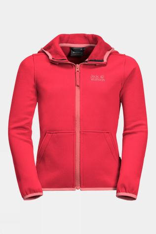 Jack Wolfskin Kids Kiewa Jacket Tulip Red