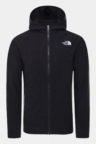The North Face Youth Glacier Full Zip Fleece Hoodie TNF Black