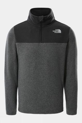 The North Face Youth Glacier Colour Blocked 1/4 Zip Fleece  TNF Medium Grey Heather
