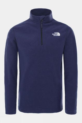 The North Face Youth Glacier 1/4 Zip (Recycled) TNF Navy