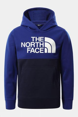 The North Face Boys Surgent P/O Block Hoodie Bolt Blue