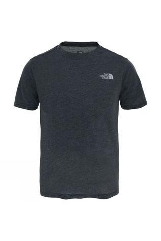 The North Face Boys Reaxion Short Sleeve T-Shirt TNF Dark Grey Heather