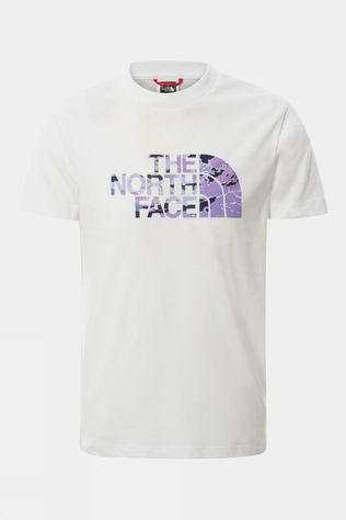 The North Face Youth S/S Easy Tee Sweet Lavender Cloud Camo Print