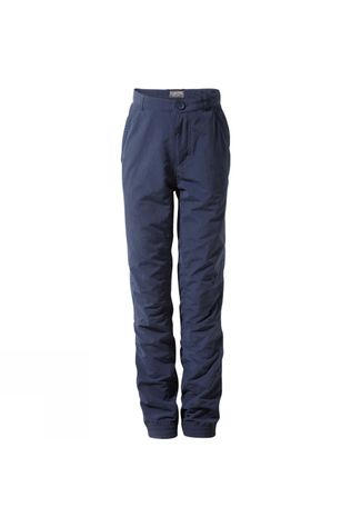 Craghoppers Boys NosiLife Terrigal Trousers Blue Navy