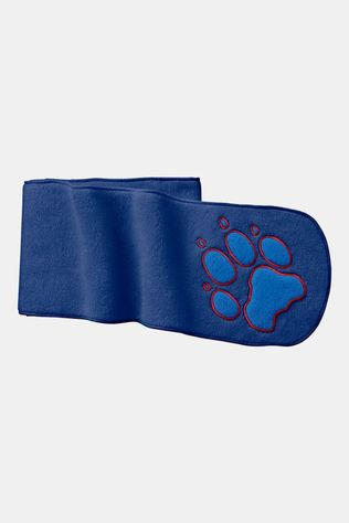 Jack Wolfskin Kids Paw Scarf Royal Blue