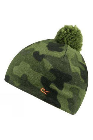 Regatta Boys Fallon Hat Cypress Green Camo