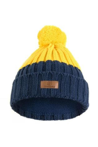 BBC Children in Need Countryfile Ramble Junior Bobble Hat Navy/Yellow